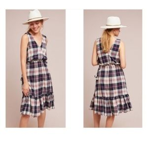Anthro | NWT Isabella Sinclair Plaid Dress